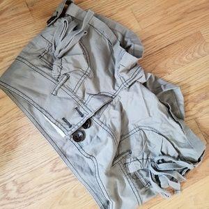 DKNY Khaki Green Shorts